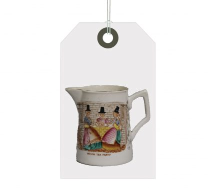 WELSH TEA PARTY JUG