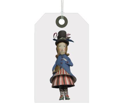 Elya Yalonetski: Cermaic Vintage Dressed Girl