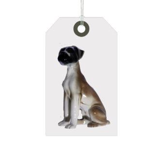 Ceramic Boxer Dog figure